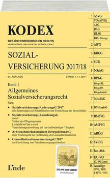 KODEX Sozialversicherung 2017/18, Band I - Nora Melzer-Azodanloo  [Taschenbuch]