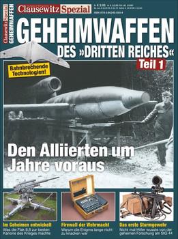 Geheimwaffen. Clausewitz Spezial 25 - Stefan Krüger  [Taschenbuch]