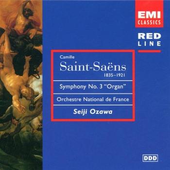 Seiji Ozawa - Red Line - Saint-Saens (Sinfonische Werke)
