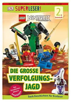 SUPERLESER! LEGO® NINJAGO® Die große Verfolgungsjagd. Sach-Geschichten für Erstleser, 2. Lesestufe [Gebundene Ausgabe]