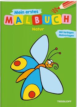 Mein erstes Malbuch Natur. Fröhliche Motive, starke Konturen, Farbvorschläge [Taschenbuch]