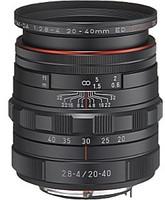 Pentax HD DA 20-40 mm F2.8-4.0 DC ED WR 55 mm Obiettivo (compatible con Pentax K) nero [Edizione limitata]