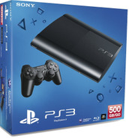 Sony PlayStation 3 super slim 500 GB nero [controller wireless incluso]