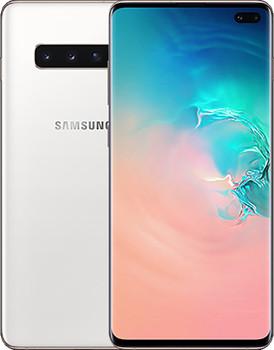 Samsung G975F Galaxy S10 Plus Dual SIM 1TB keramisch wit