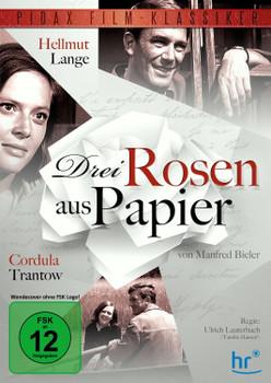 Drei Rosen aus Papier