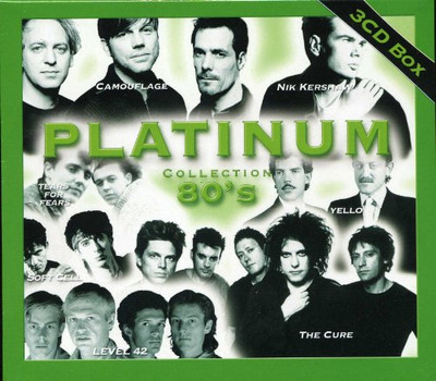 Soft Cell;Bob Geldorf;Suzanne Vega;Tears for Fears;Visage - Platinum - 80's