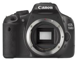 Canon EOS 550D body nero