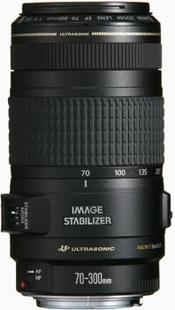 Canon EF 70-300 mm F4.0-5.6 IS USM 58 mm Obiettivo (compatible con Canon EF) nero