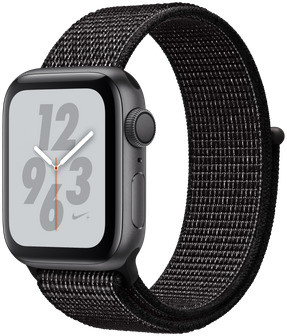 Apple Watch Nike+ Series 4 40mm caja de aluminio en gris espacial y correa Loop Nike Sport negra [Wifi]