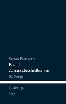 Zustandsbeschreibungen. 82 Songs - Stefan Blankertz  [Gebundene Ausgabe]