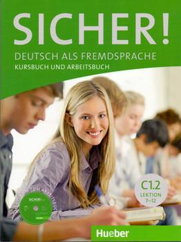 Sicher! C1/2: Deutsch als Fremdsprache / Kurs- und Arbeitsbuch mit CD-ROM - Michaela Perlmann-Balme [Broschiert, Buch+CD]