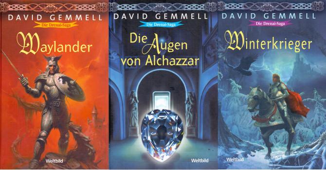 Die Drenai Saga: Waylander / Die Augen von Alchazzar / Winterkrieger - David Gemmell [Gebundene Ausgabe, Weltbild]