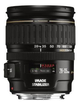 Canon EF 28-135 mm F3.5-5.6 IS USM 72 mm Obiettivo (compatible con Canon EF) nero