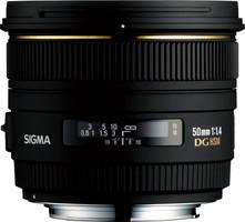 Sigma 50 mm F1.4 DG EX HSM 77 mm Objetivo (Montura Canon EF) negro