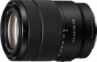 Sony E 18-135 mm F3.5-5.6 OSS 67 mm Objectif (adapté à Sony E-mount) noir
