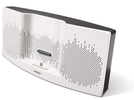 Bose SoundDock XT altoparlanti bianco / grigio scuro [per iOS]