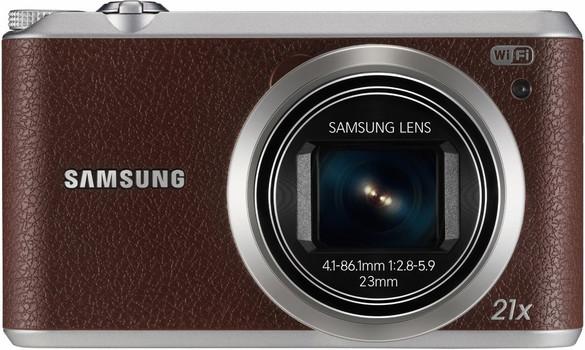 Samsung WB350F marrone