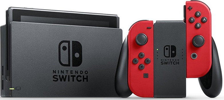 Nintendo Switch 32 GB [mandos Joy Con incluídos rojo/rojo] negro