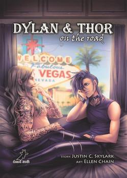 Dylan & Thor on the road - Justin C. Skylark  [Taschenbuch]