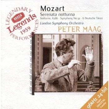 Peter Maag - Mozart, Serenata notturna