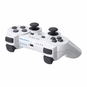 Manette Sony PS3 DualShock 3 blanche