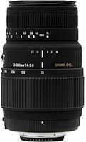 Sigma 70-300 mm F4.0-5.6 DG Macro 58 mm Objectif (adapté à Pentax K) noir