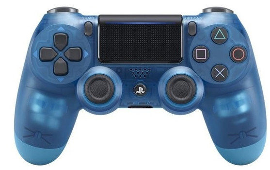 Sony PS4 DualShock 4 Wireless Controller blue crystal
