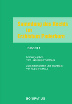Sammlung des Rechts im Erzbistum Paderborn [Taschenbuch]