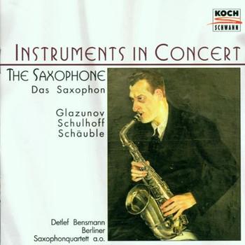 Bensmann - Das Saxophon