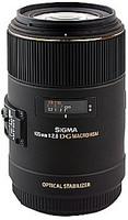 Sigma 105 mm F2.8 DG EX HSM OS Macro 62 mm Objectif (adapté à Nikon F) noir