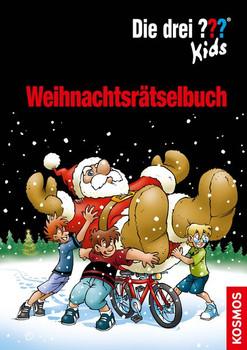 Die drei ??? Kids Weihnachtsrätselbuch - Ulf Blanck  [Taschenbuch]