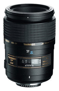 Tamron SP AF 90 mm F2.8 Di Macro 1:1 55 mm Objetivo (Montura Nikon F) negro