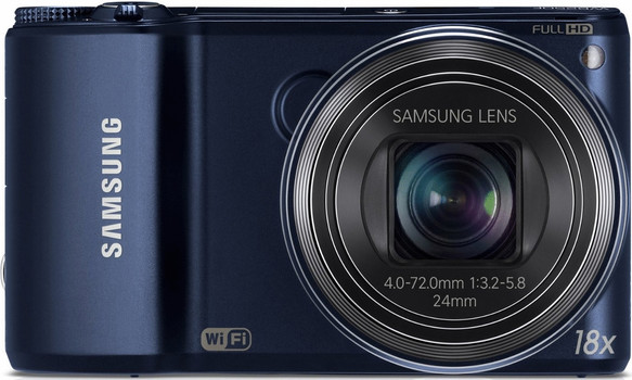 Samsung WB250F blauw