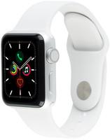 Apple Watch Series 3 42mm Caja de aluminio en plata con correa deportiva blanco [Wifi]