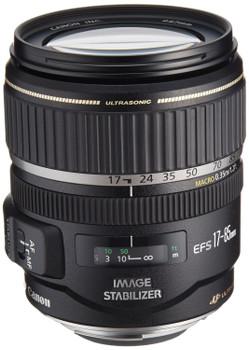 Canon EF-S 17-85 mm F4.0-5.6 IS USM 67 mm Obiettivo (compatible con Canon EF-S) nero