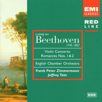 Zimmermann - Red Line - Beethoven (Violinkonzerte)