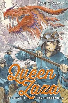 Queen Zaza - Die letzten Drachenfänger 1 - Taku Kuwabara  [Taschenbuch]