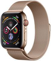 Apple Watch Series 4 44 mm boîtier en acier inoxydable or avec Bracelet Milanais or [Wifi+ Cellular]
