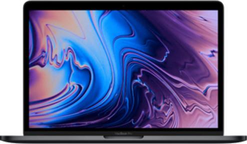 "Apple MacBook Pro met touch bar en touch ID 15.4"" (True Tone retina-display) 2.6 GHz Intel Core i7 16 GB RAM 512 GB SSD [Mid 2018, QWERTY-toetsenbord] spacegrijs"