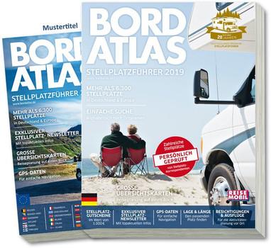 Bordatlas Stellplatzführer 2019. Deutschland und Europa - Redaktion Reisemobil International  [Taschenbuch]