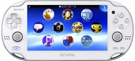 Sony PlayStation Vita [Wi-Fi] Blanche