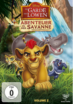 Die Garde der Löwen: Abenteuer in der Savanne [Volume 2]