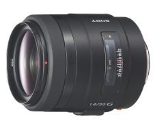Sony 35 mm F1.4 G 55 mm Obiettivo (compatible con Sony A-mount) nero