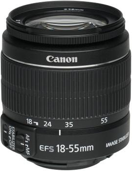 Canon EF-S 18-55 mm F3.5-5.6 IS II 58 mm Objectif (adapté à Canon EF-S) noir