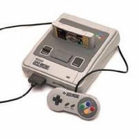 Super Nintendo Entertainment System consola + mando