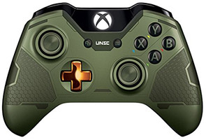 Microsoft Xbox One mando inalámbrico [Limited Halo 5: Guardians Master Chief Edition]