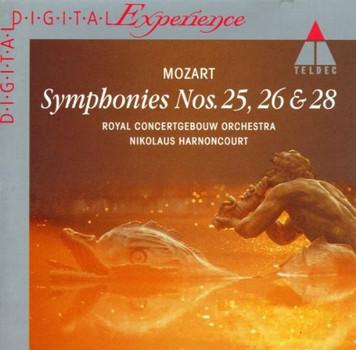 Mozart Symphonies Nos. 25, 26 & 28