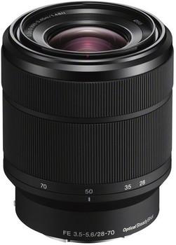 Sony FE 28-70 mm F3.5-5.6 OSS 55 mm Objectif (adapté à Sony E-mount) noir