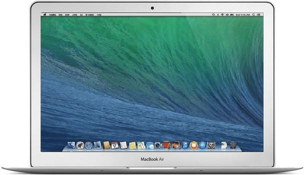 Apple MacBook Air 13.3 (glanzend) 1.3 GHz Intel Core i5 4 GB RAM 128 GB SSD [Mid 2013, QWERTY-toetsenbord]