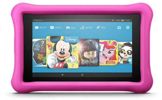 "Amazon Fire 7"" 8 Go [Wi-Fi, Kids Edition] rose"